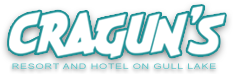 Logo for Cragun's Resort on Gull Lake