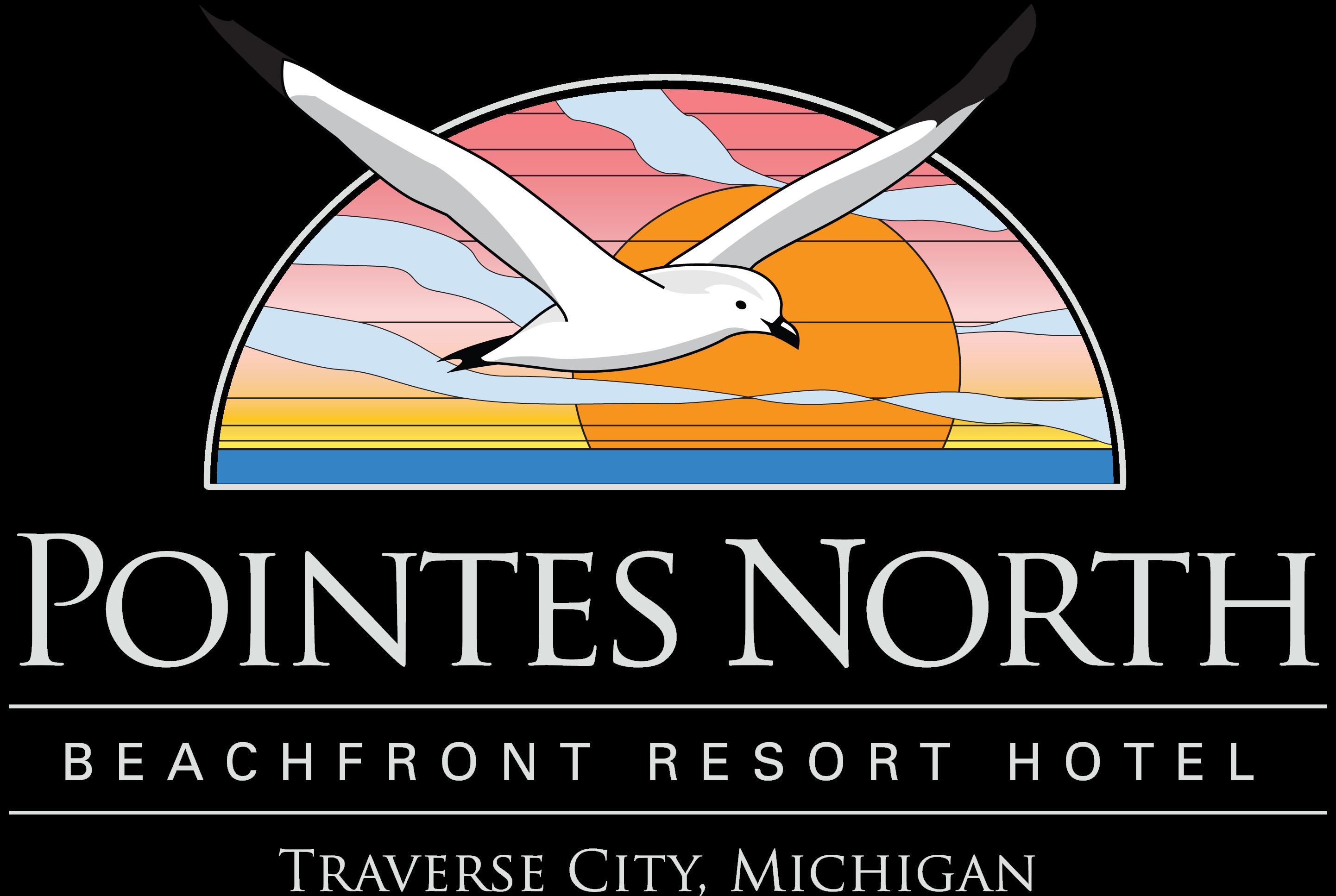 Logo for Pointes North Beachfront Resort Hotel