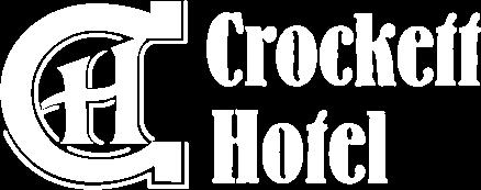 Logo for The Crockett Hotel