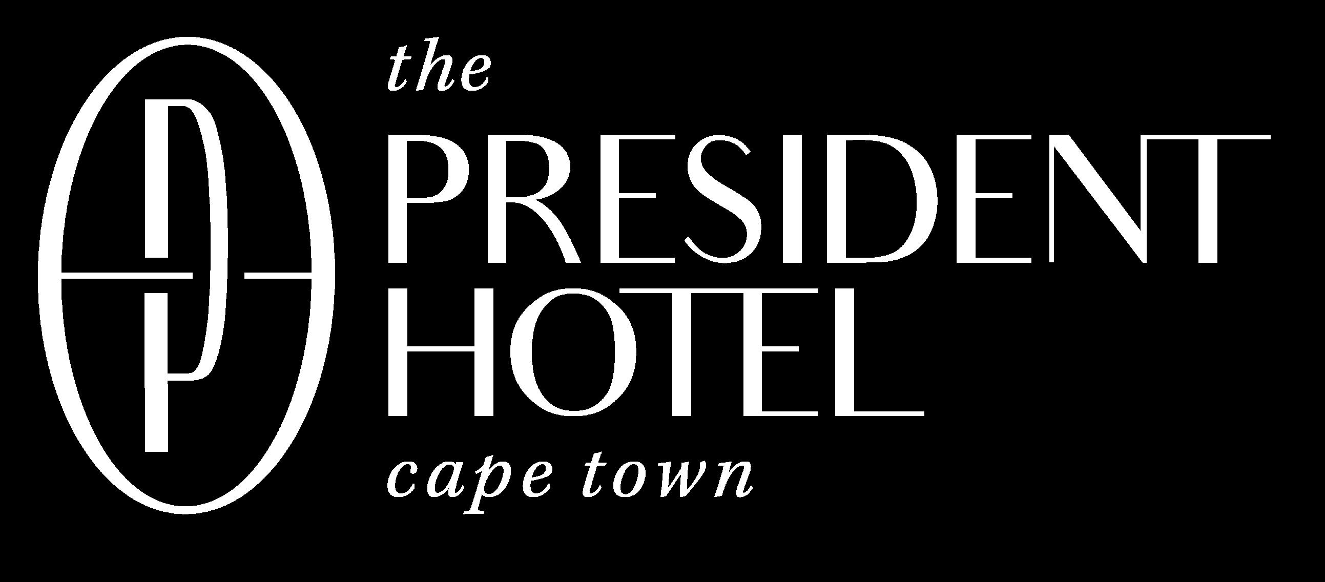 Logo for the President Hotel